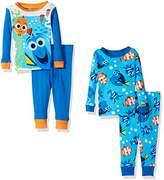Disney Baby Boys' Finding Dory 4-Piece Cotton Pajama Set