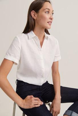 Sportscraft Daisy Short Sleeve Linen Shirt