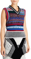 Burberry Multi-Blend Hand-Embroidered Vest