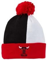 Mitchell & Ness Bulls Over & Back Cuffed Pom Pom Beanie