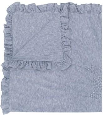 Siola Ruffle-Trimmed Blanket