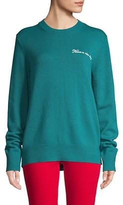 Rag & Bone Graphic Wool-Blend Sweater