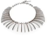 St. John Swarovski Crystal Fan Necklace