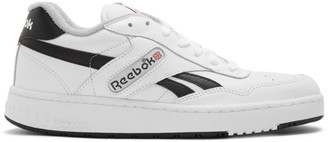 Reebok Classics White and Black BB 4000 Sneakers