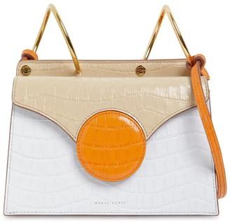 Danse Lente Mini Phoebe Embossed Coco Leather Bag