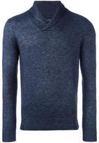 Armani Jeans shawl collar jumper