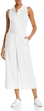 GUESS Ilaria Cropped Wide-Leg Jumpsuit