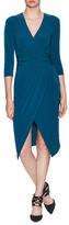 Rachel Roy Slid Tricot Jersey Knee Length Dress