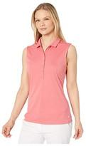 Puma Rotation Sleeveless Polo (Rapture Rose) Women's Clothing