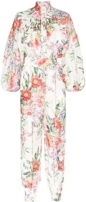 Zimmermann Bellitude floral-print jumpsuit