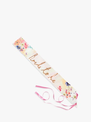 Talking Tables Bride to Be Sash