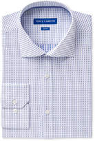 Vince Camuto Men's Slim-Fit Comfort Stretch Cerulean Square Dobby Dress Shirt