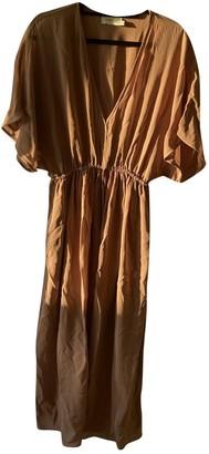Zimmermann Camel Synthetic Dresses