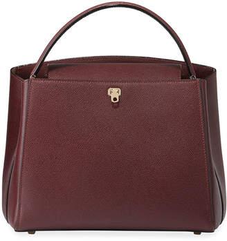 Valextra Brera Borsa Media Top-Handle Bag