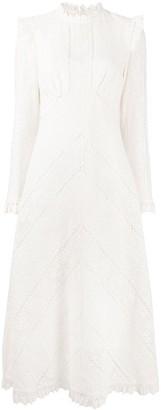 Zimmermann Brighton lace panel dress