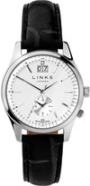 Links of London 6010.1459 Regent stainless steel and leather watch