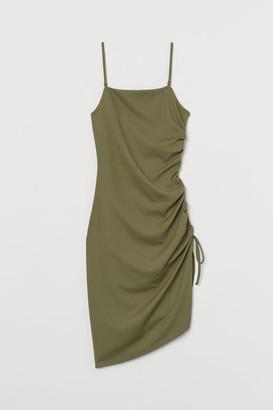 H&M Drawstring Dress - Green