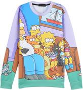 The Simpsons 3D Digital Print Unisex Sweatshirt
