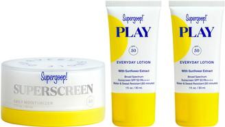 Supergoop! Superscreen Daily Moisturizer SPF 40 Sunscreen Set