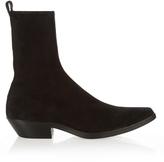 Haider Ackermann Cuban-heel suede boots