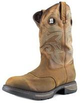 Durango Workin' Rebel Men Round Toe Leather Brown Western Boot.