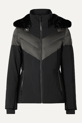 Fusalp Anne Hooded Ski Jacket - Black