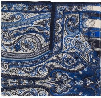 Etro Dhely paisley-print scarf