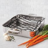 "Sur La Table Tri-Ply Stainless Steel Roasting Pan, 16"" x 13"""