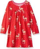 Hatley Girl's Long Sleeve Polyester Nightgowns Nightie