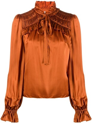 Temperley London Birdie ruffled blouse