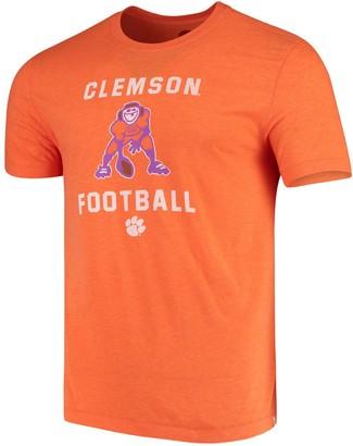 Life is Good Men's Orange Clemson Tigers Football Jake T-Shirt