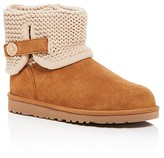 UGG Girls' Darrah Knit Trim Booties - Big Kid