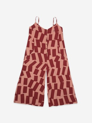 Bobo Choses Sleeveless Overall Shadows Printed Jumpsuit - M