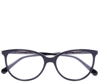 Gucci Soft Round-Frame Glasses