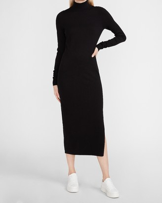Express Turtleneck Maxi Sweater Dress