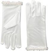 Us Angels Satin Glove w/ Iridescent Trim