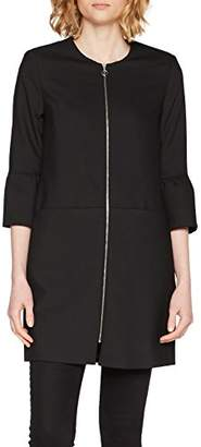 S'Oliver BLACK LABEL Women's 11.803.52.4905 Coat, Black 9999