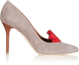 ADAM by Adam Lippes X Malone Souliers Brenda point-toe suede pumps