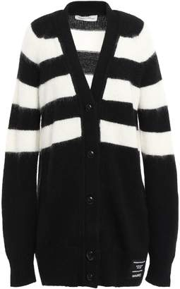 Proenza Schouler Pswl Striped Knitted Cardigan