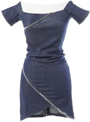 RtA Blue Cotton Dresses