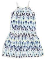 Imoga Toddler's, Little Girl's & Girl's Mia Ikat-Print Dress