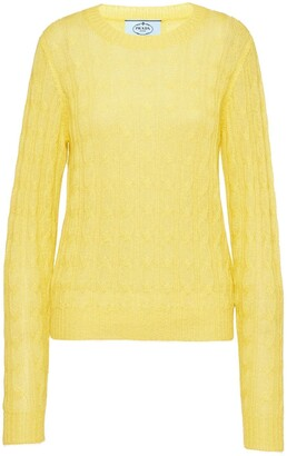 Yellow Cable Knit Sweater Shop The World S Largest Collection Of Fashion Shopstyle