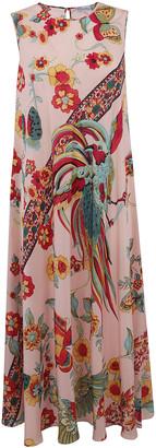 RED Valentino Sleeveless Printed Dress