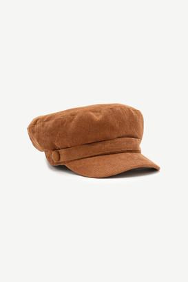 Ardene Corduroy Baker Boy Hat