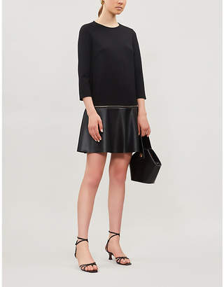 Ted Baker Mockable contrast-skirt dress