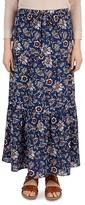Gerard Darel Jina Floral Print Maxi Skirt