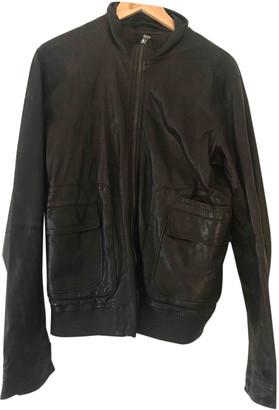 Nicole Farhi Brown Leather Jackets