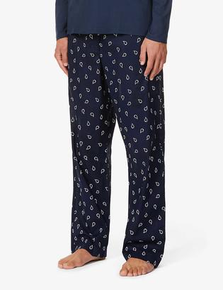 Derek Rose Ledbury paisley-print cotton-poplin pyjama bottoms