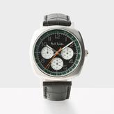 Paul Smith Men's Black 'Atomic' Watch
