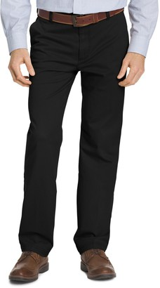 Izod Men's Straight-Fit Performance Plus Flat-Front Chino Pants